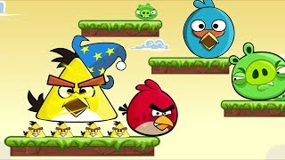 Angry Birds Rebuilding Warrior - NAUGHTY PIG AND BIRDS TRANSFOMATION