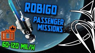 Best money making - Robigo mines passenger missions 60-120 mil/h [Elite Dangerous]