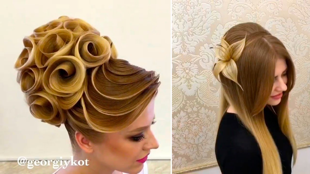 Hair Style Videos Youtube: How To Make Unbelievable Hairstyles By Georgy Kot