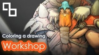 Tutorial - Coloring a drawing