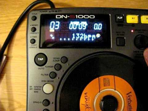 Denon DN-S1000 DJ mp3 player