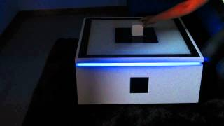Sensitive Led Coffee Table
