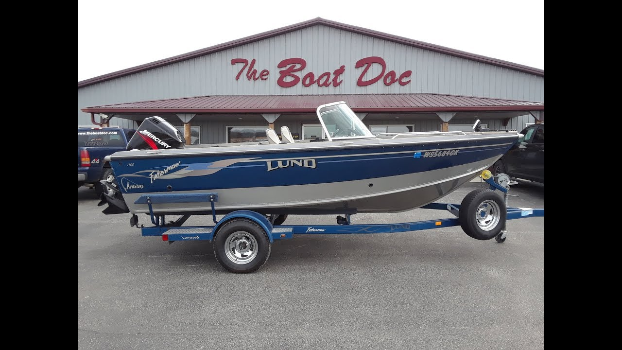 2003 Lund Fisherman 1700 Sold Youtube