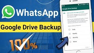 google drive backup WhatsApp || whatsapp Google Drive backup / Meher Technology