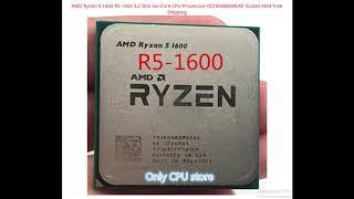 Budget gaming CPU. AMD RYZEN 5. Cheap processor.