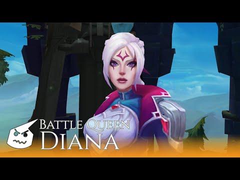 Battle Queen Diana face
