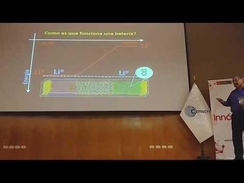 ECI 2018v: avances en celdas de almacen de energia