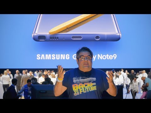 SAMSUNG UNPACKED 2018: GALAXY NOTE 9 E WATCH!