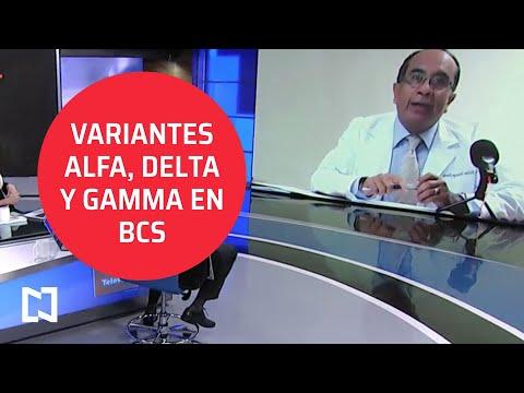 Casos de variantes Delta, Alfa y Gamma por COVID-19 en Baja California Sur; Secretario de Salud