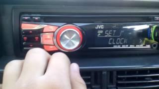 Как настроить звук на магнитофоне  JVC