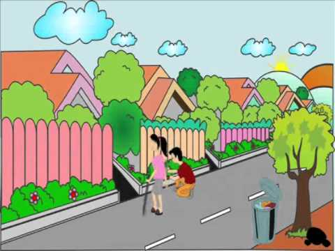 Animasi D Tradisional Kerja Bakti