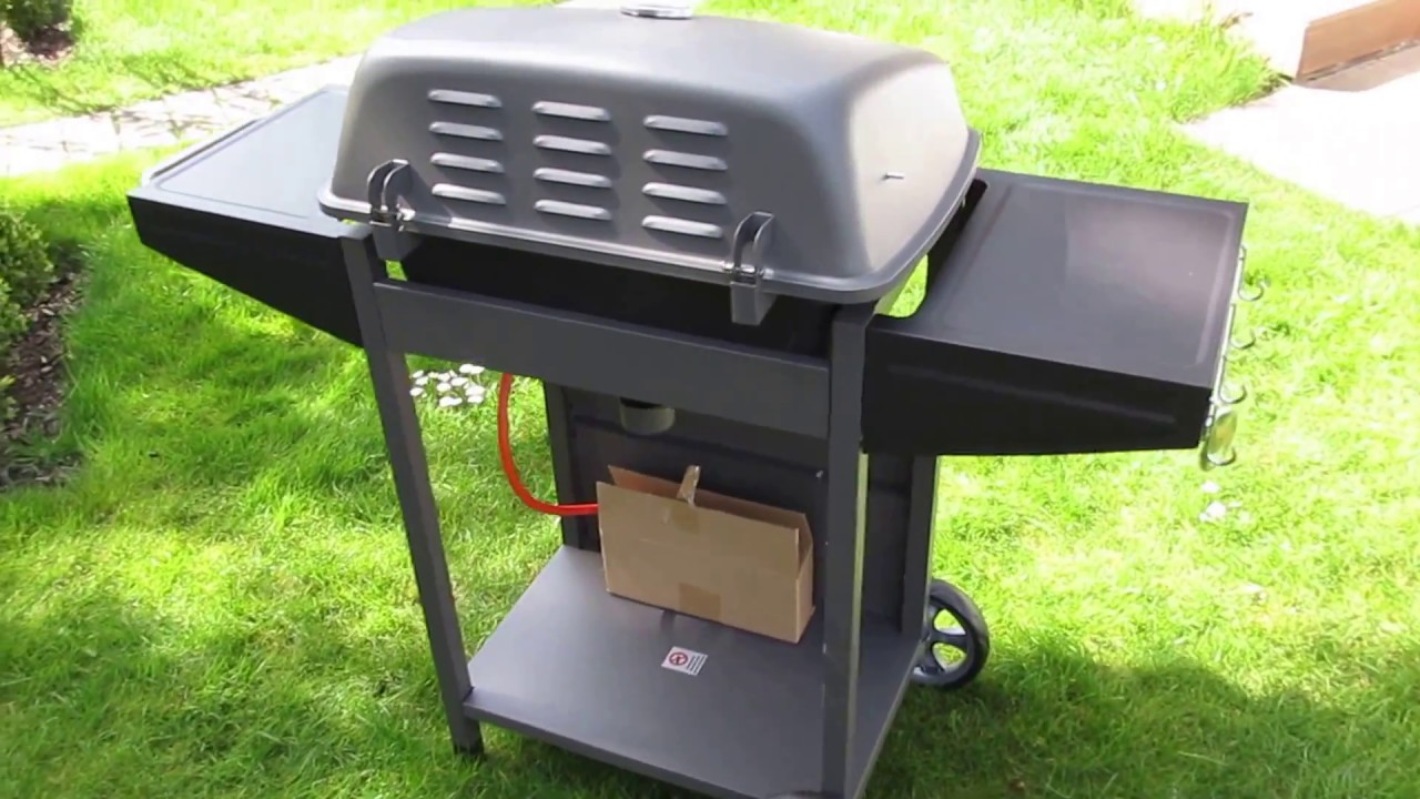 aldi bbq gasgrill 2018 2 youtube. Black Bedroom Furniture Sets. Home Design Ideas