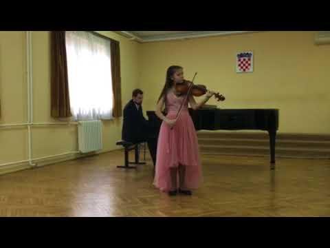 Seitz Concert no5 1st movement Nina Radović