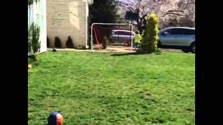 How to hit the crossbar