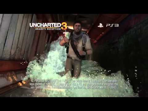 Uncharted 3: Drake's Deception  Subway Taste for Adventure TV ad