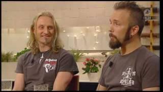 CORRODED Intervju TV4