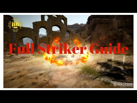 Black Desert Online - Full Striker Guide