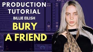 Production Tutorial: Billie Eilish - bury a friend | Vocal Production