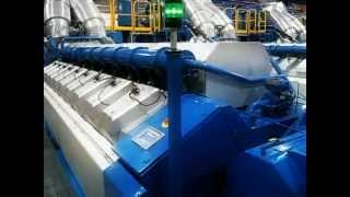 Wartsila 20v34sg gas engine starting