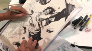 Sergio Cariello Drawing Samson