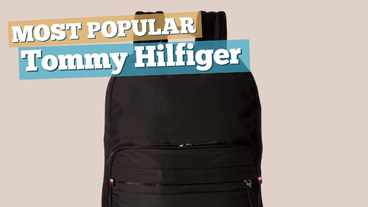 Tommy Hilfiger Backpacks For Men Most Popular 2017 Youtube