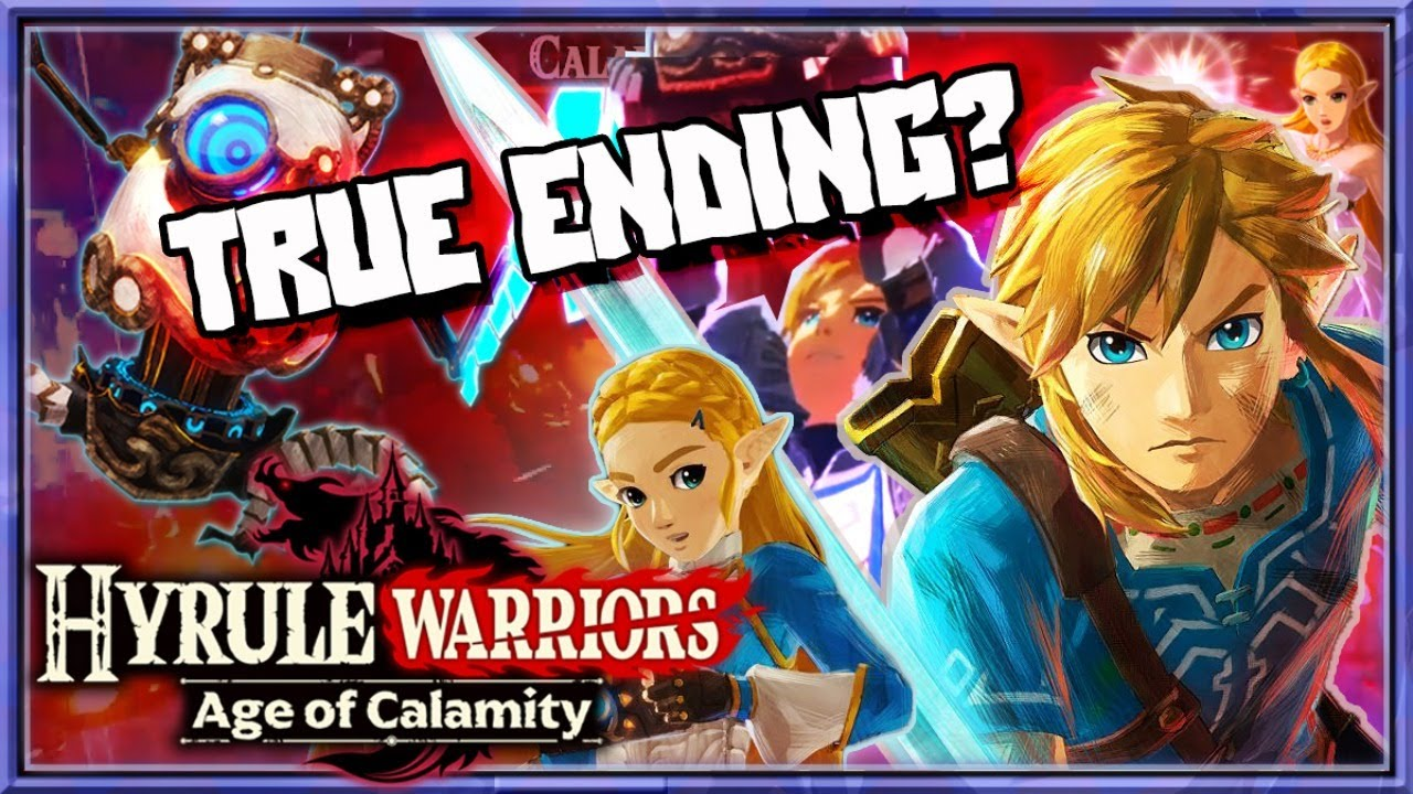 Hyrule Warriors Age Of Calamity Challenges 10 True Ending Youtube