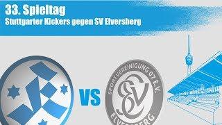 33. Spieltag, Stuttgarter Kickers vs SV Elversberg-Spielbericht+Interviews