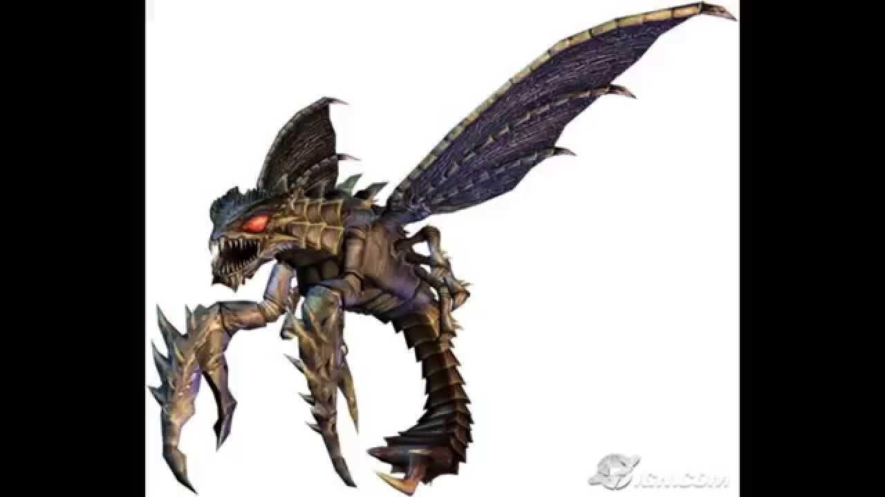 Godzilla Unleashed SFX - MegaGuirus and Orga Roars - YouTube