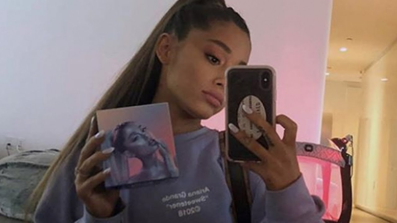 Ariana Grande Hints At Being Pregnant Youtube