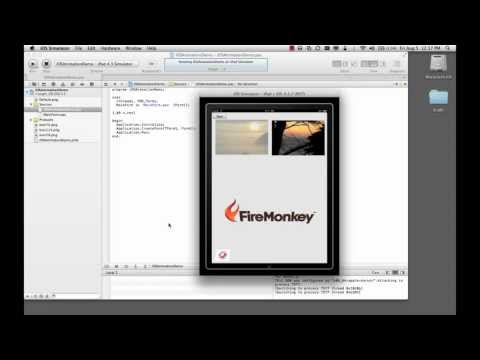 Video: Delphi XE2 and FireMonkey app on Windows, Mac and iOS
