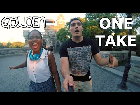 Golden - Travie McCoy ft. Sia (ONE TAKE Cover by Yaniza & Gabe!)