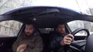 Автошкола. Урок вождения N4. Пешеходиха. Выходи из машины.