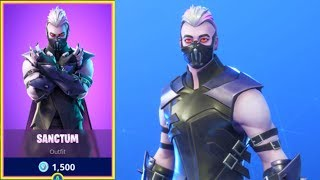 🛑NeW Fortnite Itemshop - SANCTUM SKIN AND MOONRISE PICKAXE -October 18th
