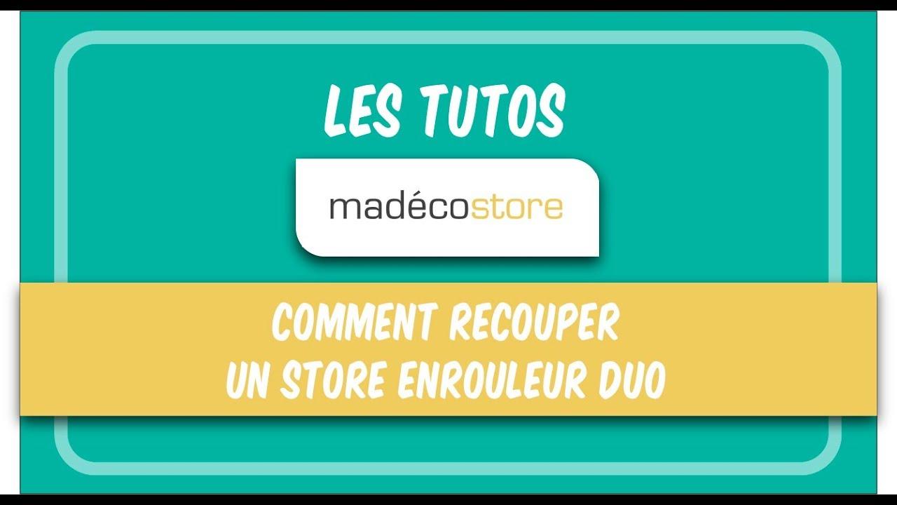 recoupe store enrouleur comment recouper un store enrouleur duo youtube. Black Bedroom Furniture Sets. Home Design Ideas