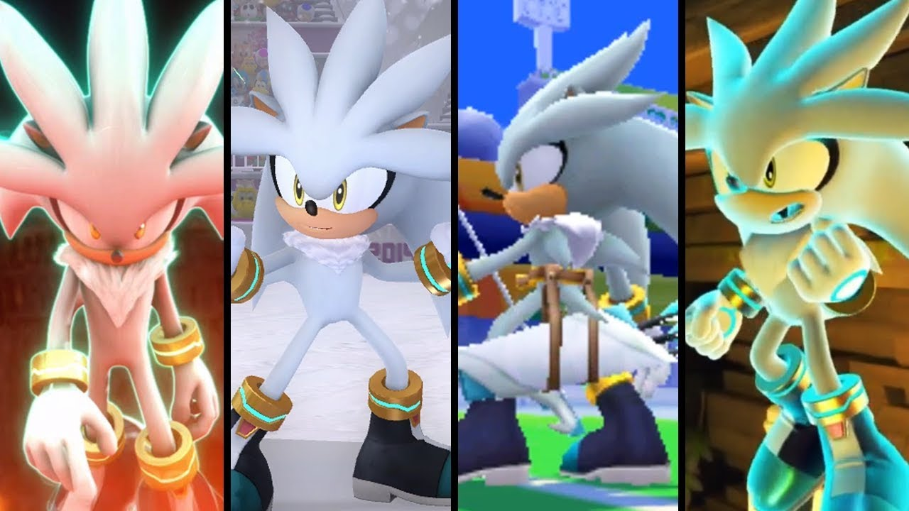 Evolution Of Silver The Hedgehog (2006
