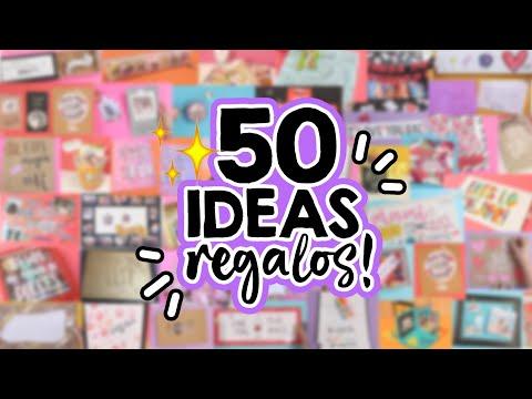 50 IDEAS De REGALOS Fáciles Y Originales! (Recopilación) 💕 Especial De San Valentín/14 De Febrero!!