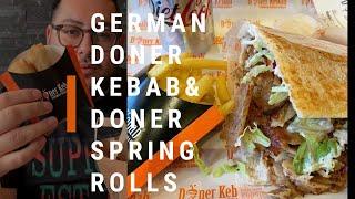 GERMAN DONER KEBAB WITH DONER SPRING ROLLS Ep:20
