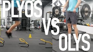 Olympic Lifts or Plyometrics? Which is Better?