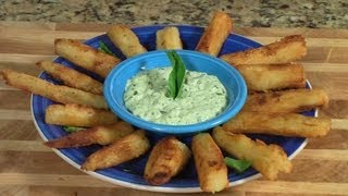 Cuban Yucca Fries - Yuca Frita With Cilantro Sauce