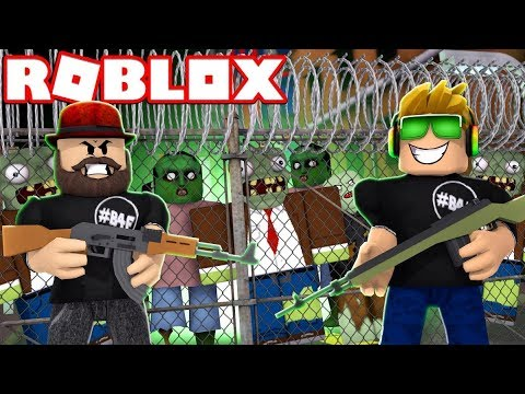 SNIPING ZOMBIES LIKE A BOSS in ROBLOX ALONE
