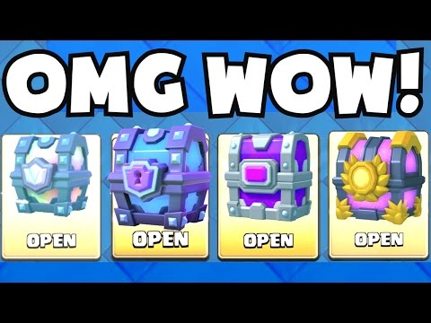 OPENING EVERY CHEST | Clash Royale LEGENDARY / SUPER MAGICAL / EPIC / GRAND CHALLENGE/MAGICAL CHEST