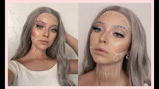 This look was completely made up on the spot and had no idea what t...