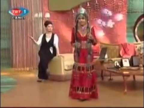 Turkmen Kizi  Abadan Halmedova - Don Gel Birtanem - www.TurklerinMekani.nl