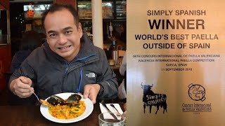 AWARDED BEST PAELLA OUTSIDE OF SPAIN - South Melbourne Market - Simply Spanish - Street Food