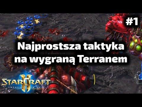 Najprostsza metoda na wygraną - Terran poradnik - Marine 4 barracks rush TvZ #1