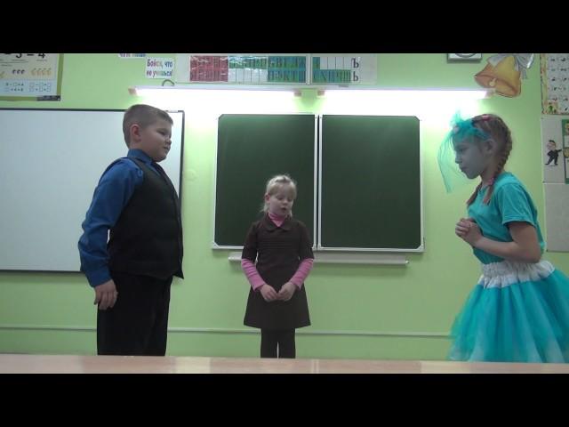 Изображение предпросмотра прочтения – «2 класс КОГОБУСШ с УИОП г.Зуевка» читает произведение «Стрекоза и Муравей» И.А.Крылова