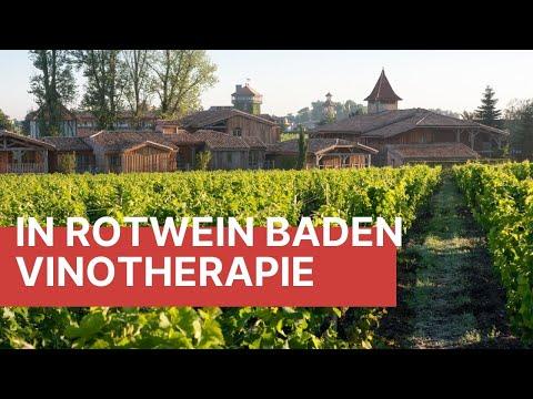 In Rotwein Baden - Vinotherapie Im Bordeaux