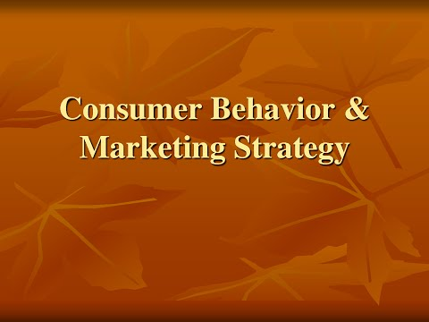 Basic Marketing: Final Consumers and Their Buying Behavior Pt1