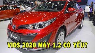 ✅ Toyota Vios 2020 máy 1.2 sử dụng động cơ mới tiết kiệm nhiên liệu hơn