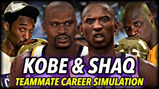 What If Kobe Bryant & Shaquille O'Neal NEVER SPLIT UP? | NBA 2K20 Teammates Career Simulation